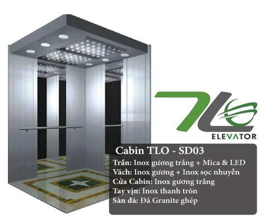 TOP 5 mẫu cabin thang máy được ưa chuộng nhất