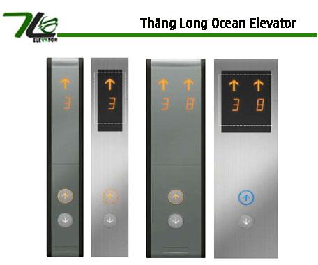 Các mẫu Button tầng và Cabin thang máy
