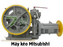 Máy kéo thang máy Mitsubishi