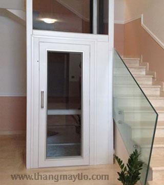 Đặc tính thang máy gia đình cửa mở tay