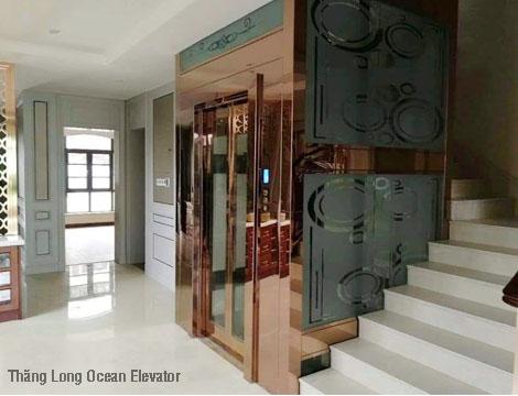 Thang máy gia đình Fuji- Hoàn hảo trong từng thiết kế
